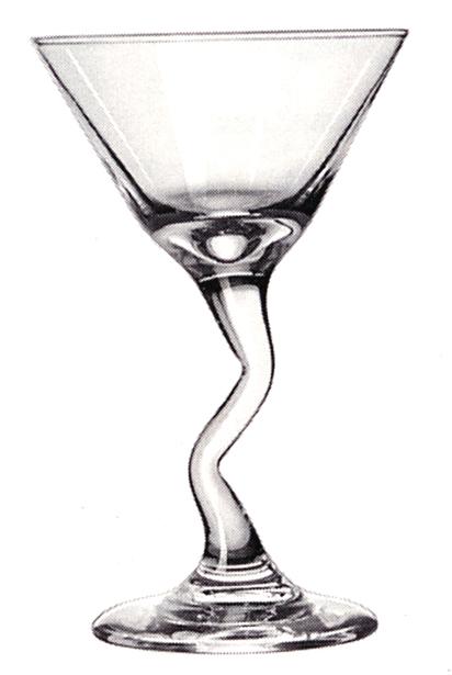 Gravure sur Coupe Cocktail