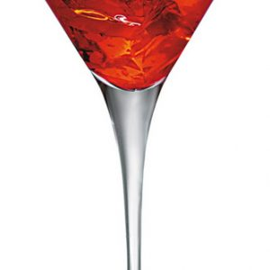 Logo sur Coupe Cocktail