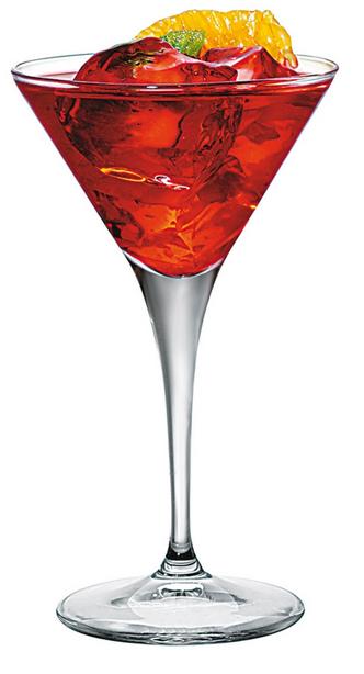 Logo sur Coupe Cocktail