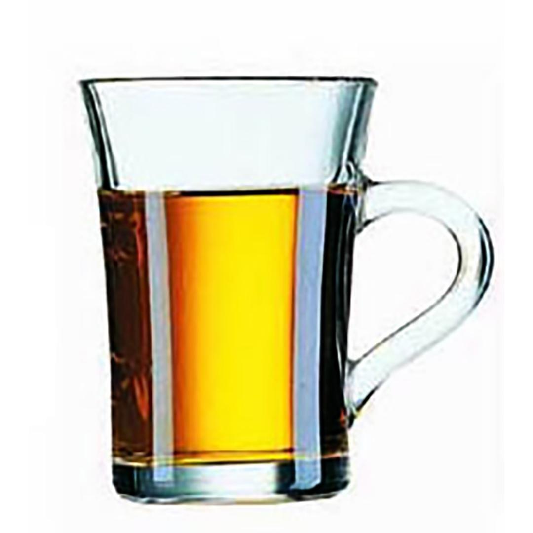 Tasse à thé en verre à graver