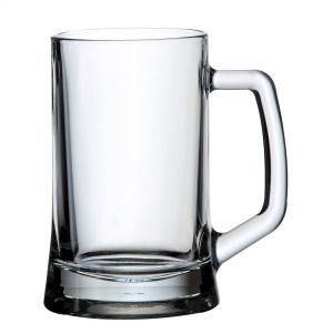 VERRE A BIERE TRANSPARENT